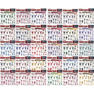 New NCAA College Team 12 x 12 Family Car Decal Sheet