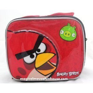 Angry Birds Insulated Lunch Box Bag Case New 04977