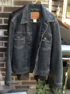 VINTAGE RED TAB LEVIS BLUE LINED JEAN JACKET~~70528 0359~~SIZE MED