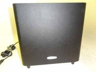 Polk Audio PSWI225 Wireless Powered Home Theater Subwoofer Only Black