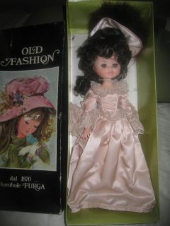 FASHION FURGA ITALY DOLL LA CONTESSA DI LYNDON 70s dal 1870 bambole F