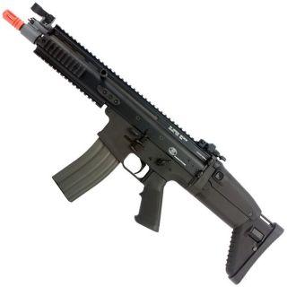 FN Scar L CQB AEG Airsoft Rifle Gun Black