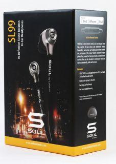 Soul by Ludacris SL99 High Definition in Ear Earbuds New
