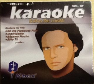 Exitos de Luis Miguel New Karaoke 2 CDs Factory SEALED 24 Exitos