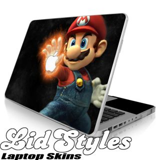 Mario Vinyl Laptop Skin Decal Fits Apple MacBook Pro Air 13