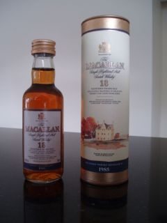 1x Macallan Single Malt Scotch Whisky 18YO RARE Old Label 1985