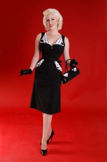 Bettie Page Dress Brigit Mad Men Style New