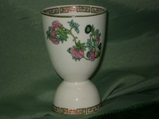 Maddock England Egg Cup Indian Tree Pattern