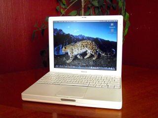 APPLE MAC BOOK IBOOK LAPTOP NOTEBOOK COMPUTER WIFI WARRANTY LOADED