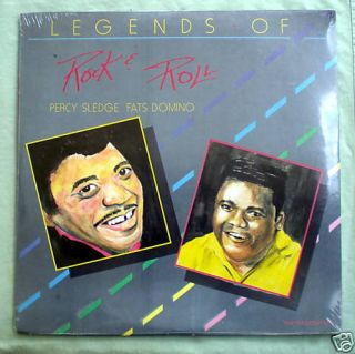 Percy Sledge Fat Domino 2 LPS Legends of Rock Roll SEALED