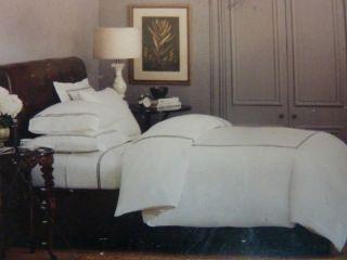 Luxury hotel seville brown king duvet bedskirt king shams for Luxury hotel 660 collection bed skirt