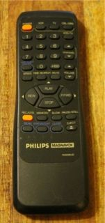 Philips Magnavox VCR TV Cable DBS Remote Control N9298UD Fair