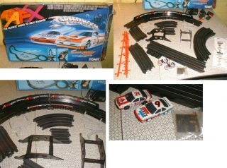 1991 Complete Scarce AFX Speed Hook Slot Car Racing Set Tomy Free