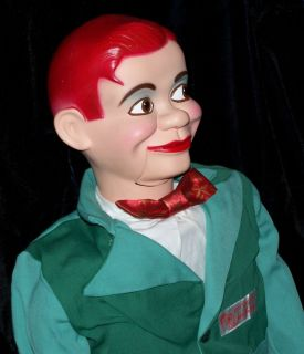 Ventriloquist Paul Winchell Vintage Jerry Mahoney Dummy Doll Puppet