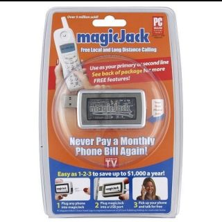 Magic Jack Brand New and SEALED Free Year of Service