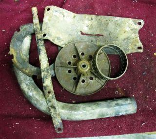 Harley Davidson Knucklehead Crusty Parts Pre 47 Shift Arm Skid Plate