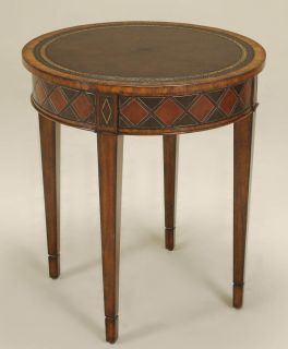 Maitland Smith 3630 022 Aged Regency Finished Occasional Table Old