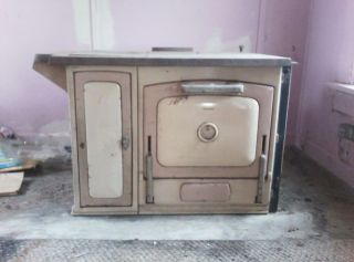 Majestic Porcelain Wood Cook Stove Antique Oven 1900S