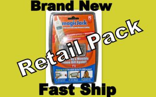 Magic jack USB Phone Jack unused unopen plus 1 year free subscription