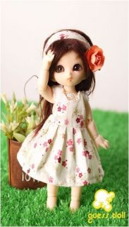 Style Flower Outfit Clothes Pukipuki Tiny 2pc Set