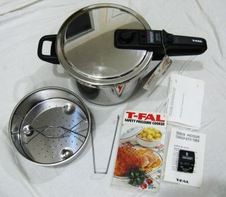 TEFAL Exclusivity Stainless Steel Pressure Cooker Made France Exce