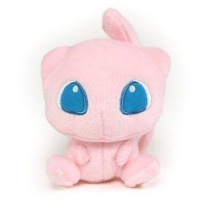 Pokemon Center Figure 5 Mew Cute Stuffed Plush Doll Toy Pink US Fast
