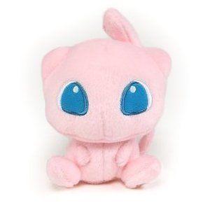 Pokemon Center Figure 5 Mew Cute Stuffed Plush Doll Toy Pink US Fast