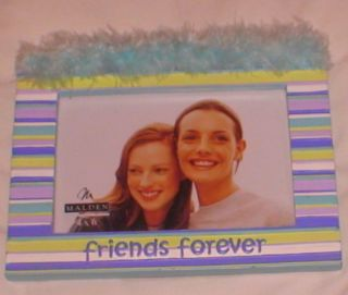 Friends Forever Photo Picture Frame Malden Hand Painted