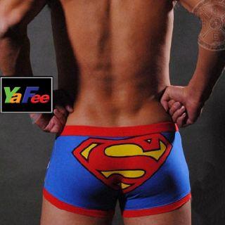 New Superman Mens Sexy Boxer Brief Underwear M L XL