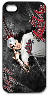 Lace Up MGK Machine Gun Kelly Cleveland Apple iPhone 5 Hard Case