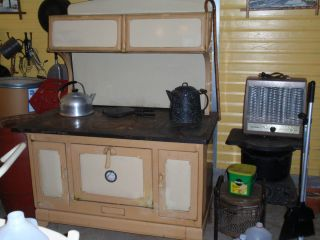 Antique Kalamazoo Wood Cook Stove