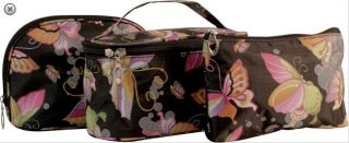 set Butterfly make up cosmetic case toiletry travel bag bags Mad Style