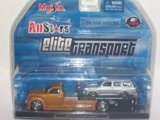 Maisto All Stars Transport 1 64 Tow Truck Squareback