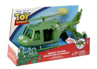 Toy Story 3 Sarges Chopper with Spinning Propeller Army Men