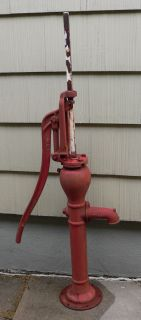 Antique Vintage Cast Iron Duflex Windmill Water Well Cistern Pump 64