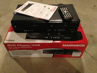 New Open Box Magnavox DVD Player/Tuner Free VCR Combo, DV220MW9 Free