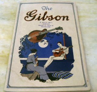 Gibson Mandolins and Guitars Catalog L 1920