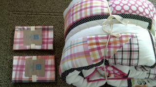 Pottery Barn Teen Manhattan Beach Full Queen Quilt Lamberts Cove Shams