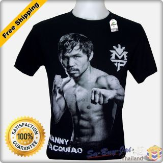 Shirt Manny Pacquiao Pac Man Boxing Champion RTO Vtg M L XL