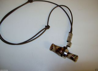 Camo Mini Working Duck Call Necklace S