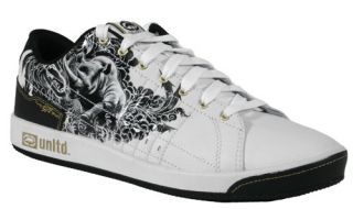 Unltd Marc Ecko Shoes Mens Phranz Raged 24249 WBK Size 6 5 39 New