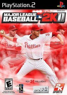 New Major League Baseball 2K11 Game for PlayStation 2 MLB 2K11 PS2