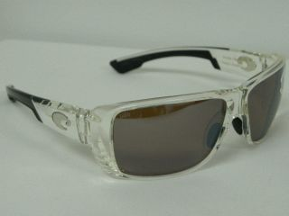 Costa Del Mar Double Haul Crystal Silver 580 Mirror $249 Polarized