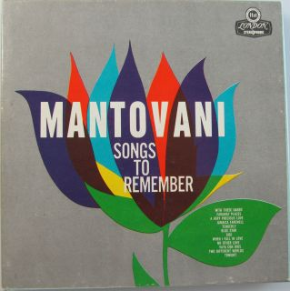 Mantovani Orchestra Songs to Remember Reel to Reel Tape 71 2