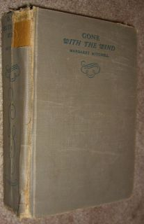 Gone with The Wind by Margaret Mitchell First Edition 1937