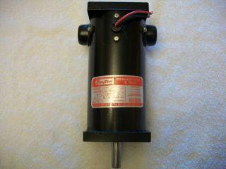 Dayton Permanent Magnet DC Motor Wind Generator