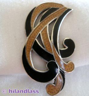 Margot de Taxco Vintage Mexico Mexican Sterling Silver Enamel Earrings