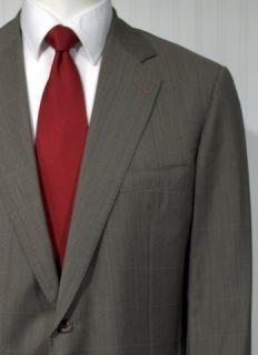 Hickey Freeman from  43 L Sport Coat Jacket Dark Tan and