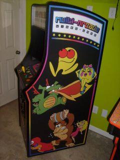 Galaga MS Pac Man Mame Stlye Mulit Arcade