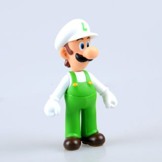 New Super Mario Bros 5 Luigi Action Figure Toy TG0096D